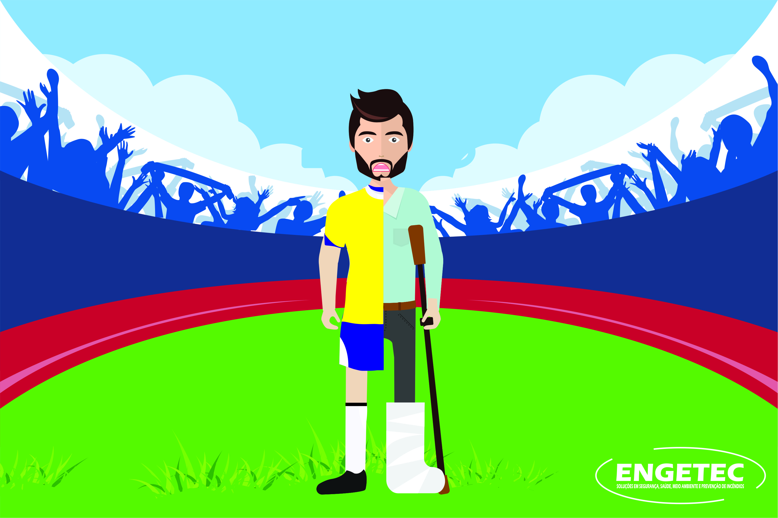 Lesão em evento esportivo da empresa é acidente de trabalho?