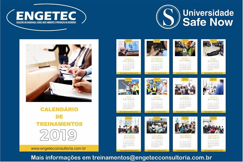 Engetec anuncia calendário de treinamentos para 2019