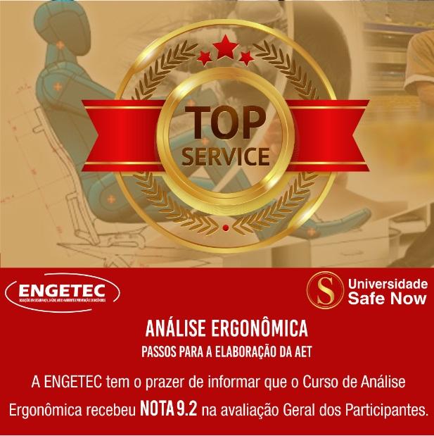 Curso de Análise Ergonômica recebe nota 9.2 na avaliação geral dos participantes